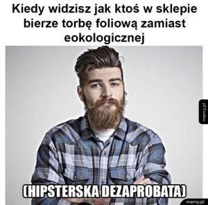 Hipsterowi się nie podoba