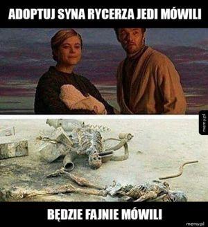 Adopcja syna Jedi