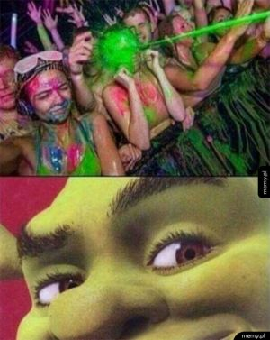 Shrek jest zadowolony