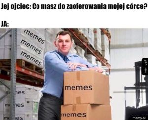 Jestem bogaty w memy