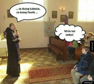 Podczas mszy