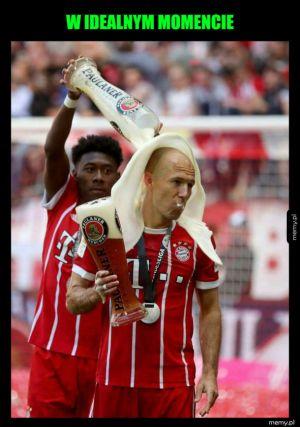 Bayern świętuje mistrzostwo Niemiec