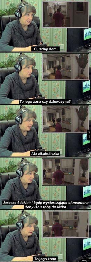 Babcia gra w GTA