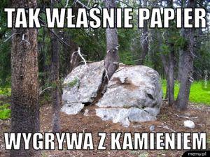 Papier i kamień