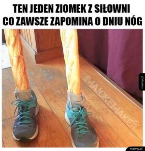 Nigdy nie zapominaj o dniu nóg