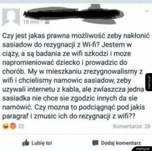 Wi-Fi groźne
