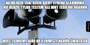 Syreny alarmowe w Polsce