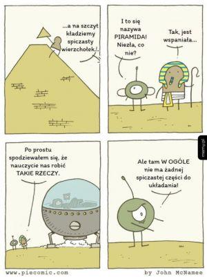 Kosmici i piramidy