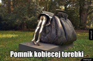 Pomnik kobiecej torebki