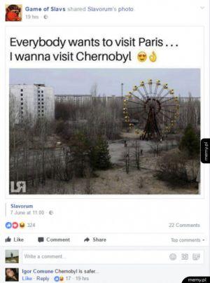 W Czarnobylu bezpieczniej