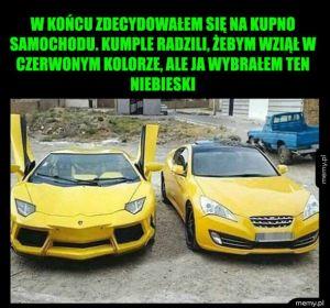 Kupno samochodu
