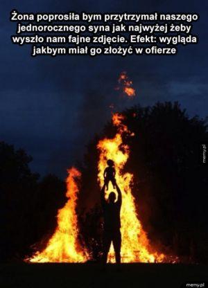 Zdjęcie nad ogniskiem
