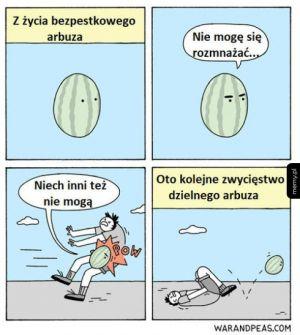 Bezpestkowy arbuz