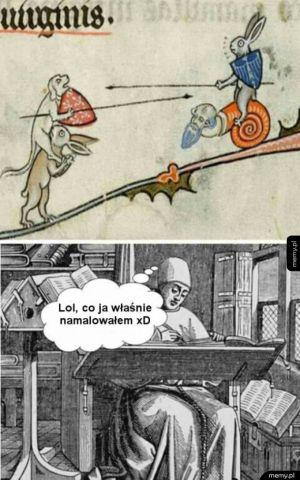 Średniowieczni mnisi