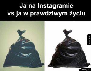 Instagram vs życie