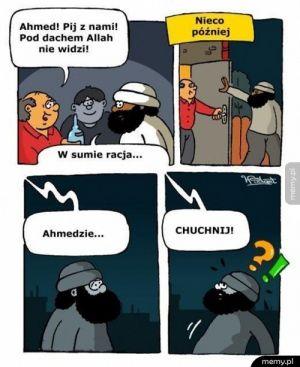 Kiedy Allah nie widzi!