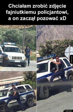 Fajny policjant