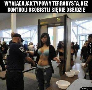 Typowa terrorystka