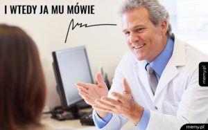 Lekarz do pacjenta