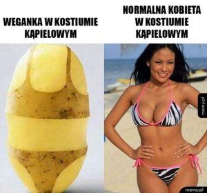 Normalna dziewczyna vs. weganka