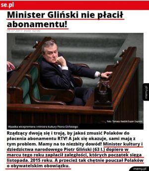 Brawo Panie ministrze xD
