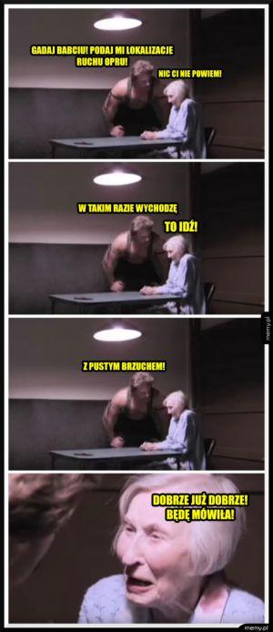 Jak szantażować babcię