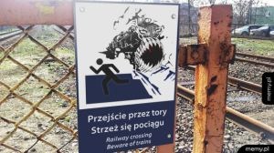 Strzeż się pociągu