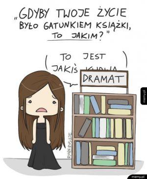 Gdyby twoje życie było gatunkiem książki
