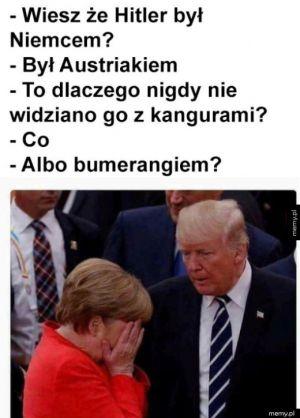 Rozmowa z Trumpem