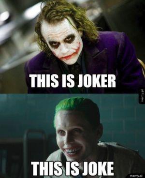 Joker jest tylko jeden
