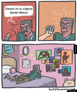 Zdjęcia Spider-Mana