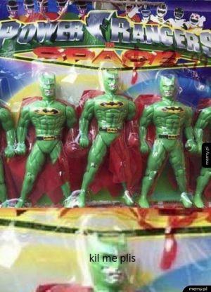 Nowe power rangers super