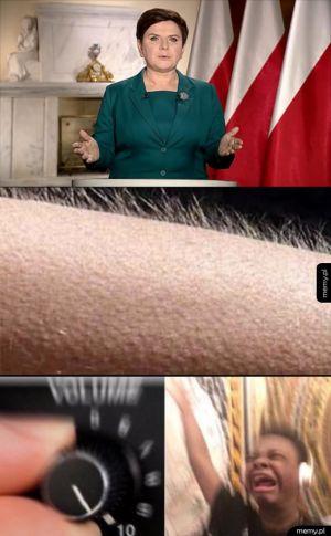 Orędzie w telewizji