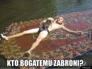 Pływający dywan