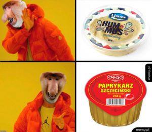 Paprykarz czy hummus?