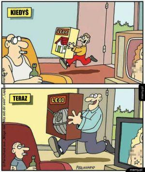 Z wiekiem zmienia się tylko rozmiar zabawek