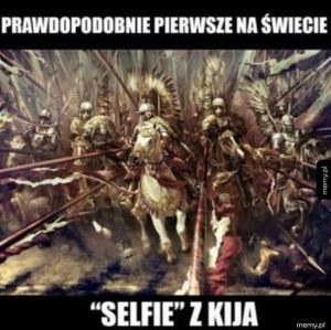 Pierwsze Selfie