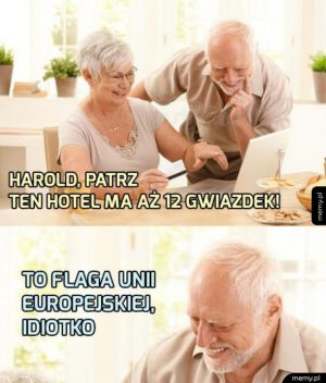 Harold, patrz!