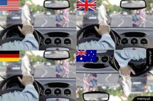 Tak sie jeździ w Australii