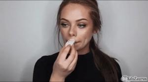 Straszny makijaż