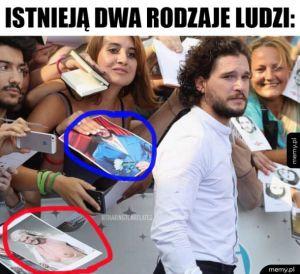 Chciałbym jego autograf na takim zdjęciu
