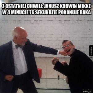 Janusz nokautuje