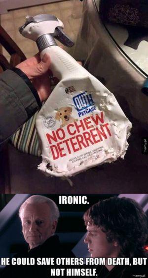 Ironia...
