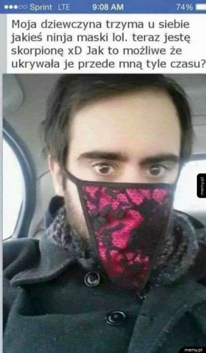Maska ninjy