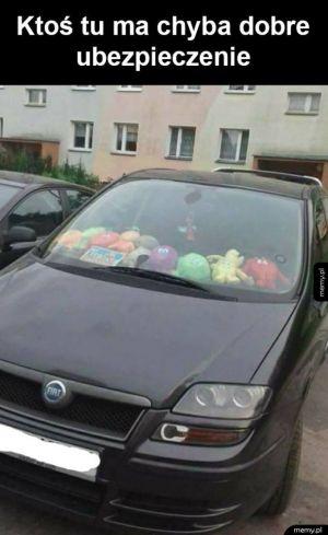 Komuś nie szkoda samochodu