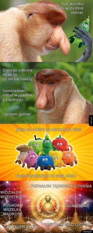 Janusz zobaczył wszystko!