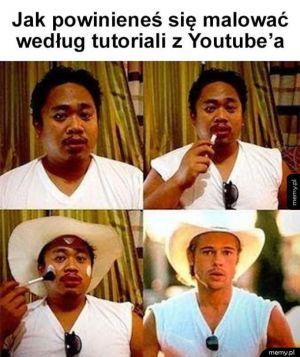 Typowy tutorial z Youtube'a