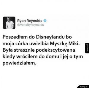 Ryan najlepszym tatą na świecie