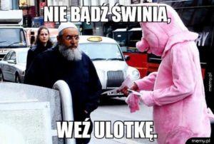 Nie bądź świnia
