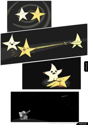 Spadające gwiazdy